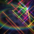 Digitally generated disco laser background — Stock Photo