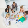 Young design team brainstorming together — Stock Photo #42937721