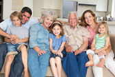 Family spending leisure time — Stock Photo
