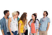 Happy young people — Stock Photo
