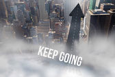 Keep going against road — Photo