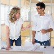 Architecture team working together — Stock Photo #45107749