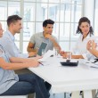 Business team having a meeting — Stock Photo #45107933