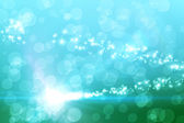 Bright light energy design in blue — Photo