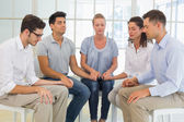 Group therapy in session — Stock Photo