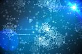 Delicate snowflake design — Stock Photo