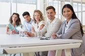 Team di business durante la riunione — Foto Stock