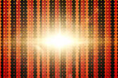 Linear pattern with glowing light — Stock Photo