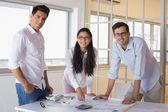 Architecture team working together — ストック写真