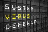 Virus buzzwords — Stock Photo