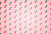 Kitsch pattern wallpaper with roses — Stock Photo