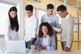 Business team having a meeting — Photo