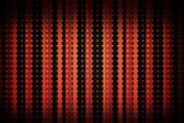 Linear pattern in black and red — Stock Photo