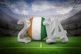 Composite image of ivory coast world cup 2014  — Stock Photo