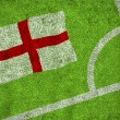 Composite image of england flag — Stock Photo