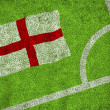 Composite image of england flag — Stock Photo