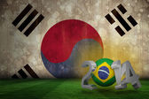 Composite image of brazil world cup 2014  — Stock fotografie