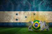 Composite image of brazil world cup 2014  — Stock Photo
