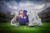 Composite image of australia world cup 2014  — Foto Stock