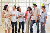 Coworkers celebrate accomplishment — Stock Photo