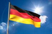Germany national flag on flagpole  — Stock Photo