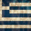 Greece flag in grunge effect — Stock Photo #46791129