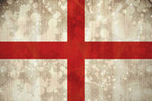 England flag in grunge effect — Stock Photo