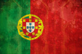 Portugal flag in grunge effect — Stock Photo
