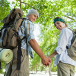 Couple on a hike — Stock Photo #48234637