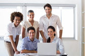 Business people in the workplace — Stock Photo