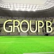 Group B world cup animation — Stock Video #48239805