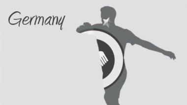 Tyskland vm 2014 — Stockvideo