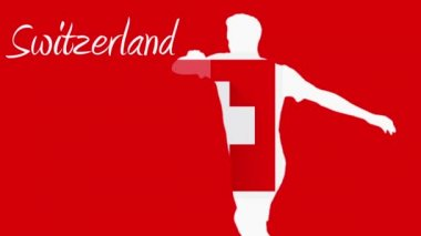 Switzerland world cup 2014 — Vídeo Stock