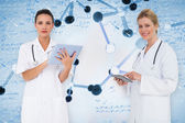 Female medical team — Stockfoto