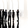 Business colleagues standing — Stock Photo #48253823
