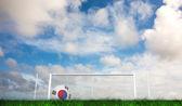Futbol Güney Kore renkler — Stok fotoğraf