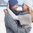 Couple hugging on the beach — Stock Photo #48324123