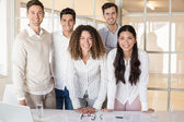 Casual business team — Stock Photo