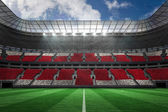Football stadium full of england fans — Stock Photo