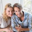Couple enjoying white wine — Stock Photo #48345341
