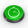 Stopwatch graphic on push button — Stock Photo #49989813