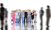 Personnes ayant des emplois — Photo