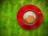 Composite image of fingerprint — Stock Photo