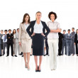 Businesswomen looking at camera — Stock Photo #49993027