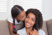Pretty mother with her daughter — Stock Photo