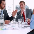 Business people working together at meeting — Stock Video #50446119