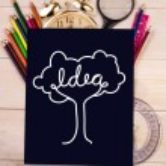 Composite image of idea tree — Stock Photo #51563293