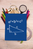 Composite image of trigonometry — Stock Photo