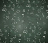 Composite image of school doodles — Stock Photo