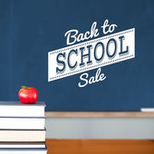 Composite image of back to school sale message — Stockfoto